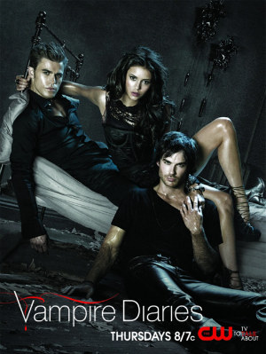 The Vampire Diaries <3 I'm definately obsessed, mostly with Delena <3