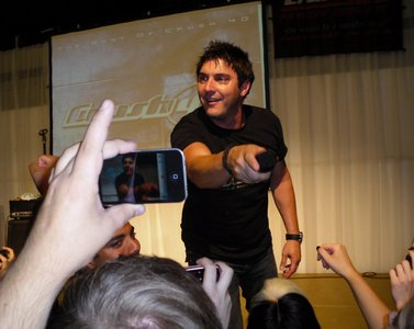 Ok, how about Johnny Gioeli from Crush 40?
