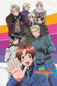 お気に入り アニメ shows are ヘタリア Axis Powers and 黒執事 ^^