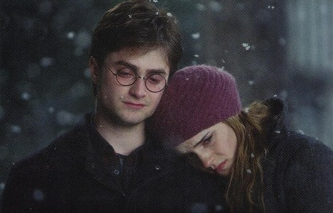 Hermione Hugging Harry i Love Harry And Hermione