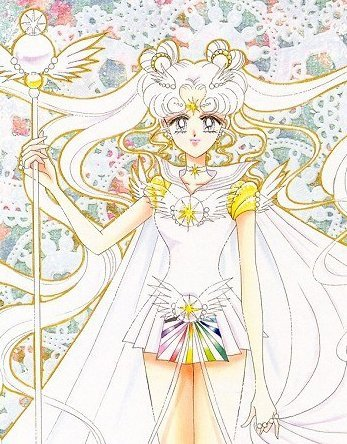 There's Sailor Cosmos from Sailor Moon...