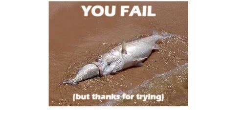 I read it.And WOOOOOOOOOWWWWWWW,I ALMOST GAVE A CRAP!! 8O Yea,YOU just FAILED!!