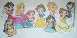ディズニー Princesses.