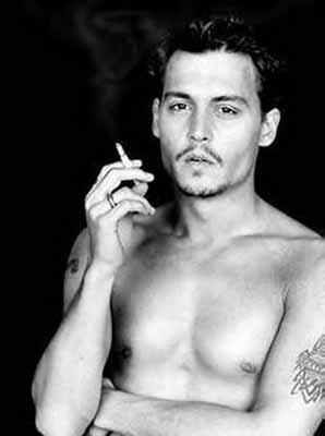 of course Johnny Depp :D don't need to say why ♥