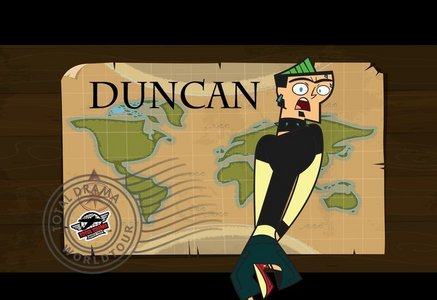 Duncan From Total Drama Island.