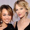 taylor veloce, swift and miley cyrus are my absolute preferito singers of all time they rock! their creative funny and very talented!