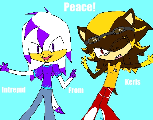 I think it's nice. And people, please, QUIT IT WITH THE RECOLOR THING! THAT'S HOW SOME LEARN TO DRAW! *deep breath* Sorry, had to get that off my chest. Oh, and how do 당신 like mine? The bird one is me, fyi.