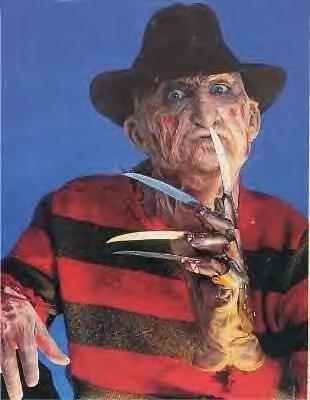 Three words. FREDERICK CHARLES KRUEGER!