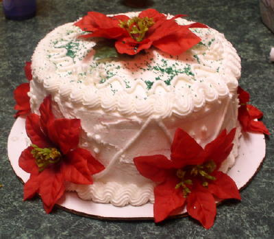 Happy birthday! Here's your cake: