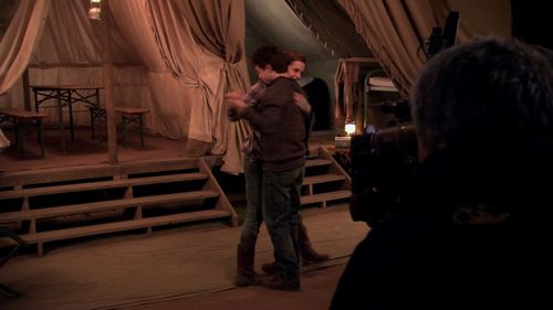I actually liked it alot. I think it expressed the love Harry and Hermione have... as friends. She was upset about Ron leaving, so dancing was a good way to cheer up. The end was a little bit overrated, they looked like they were about to kiss. I guess it was supposed to show they were lonely. It was pretty good!