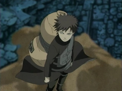 Easy!It'd be Gaara from Naruto!