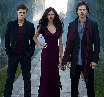 The Vampire Diaries. <3 Then right behind is NCIS& Gossip Girl :)