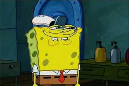 SpongeBob's epic face