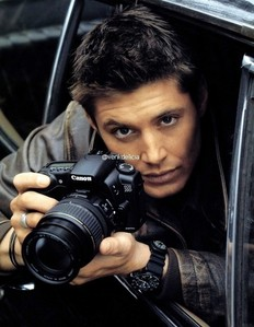 So pretty. I want him and that camera.