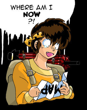 Wow, that's hard...it's easier to pick one that isn't funny. But I have to say Ryoga from Ranma 1/2. He fails at life.