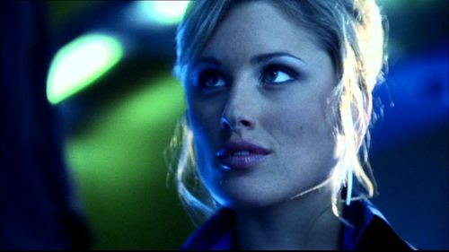 well, was she hot? yes! was she the hottest, not really....personally, the saleswoman from the lamborghini dealership in Exile was the hottest babe to appear on Smallville...