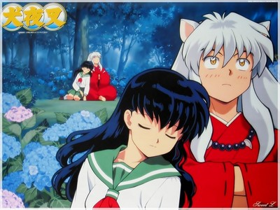 Kagome by far!I don't like Kikyo,she's to selfish!Kagome is way better!