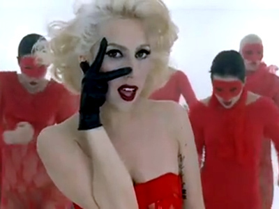 This is my favorite from Bad Romance