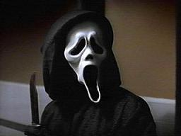 The guy i like was the Ghostface Killer xP