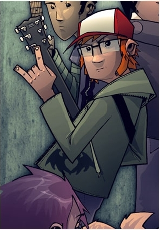 Yes!, whenever I hear Patrick Stump sing....*moans* it's just so freakin sexy!!! btw, in the pic, it's Patrick but it's him as a cartoon, and he was the lead singer of Fall Out Boy :3