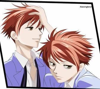 Kaoru and Hikaru from Ouran High School Host Club.
