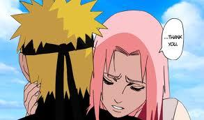 Naruto shippuden sakura and naruto kiss