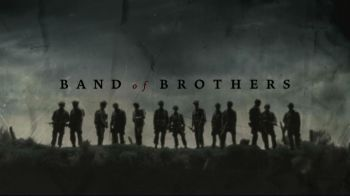 band of brothers it's an movie based on a true story also and its and sad movie oh an i also like saving private ryan. Both of the movie is about WWII Air Born paratroopers.