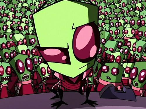 Zim from Invader Zim Barry and James from Pokemon Zuko from 阿凡达