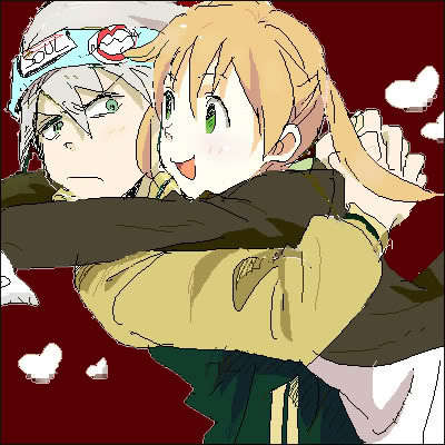 I have so many! >w< But I'm obessing over MakaxSoul [from Soul Eater] right now. :3 <3