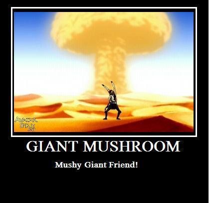 Giant Mushroom!