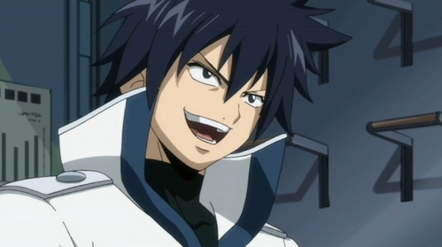 I think Gray Fullbuster from fairy tail