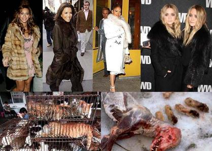 I Hate all Pelakon wanita that use animal fur!!!!!!!! Cinta atau hate this Celebrities???????