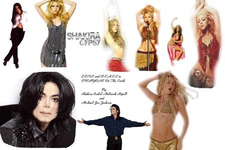 Shakira - Since I was five; (Shak and MJ)!!! <3 Pic made kwa me, Ellen (MJJMyLove FanPop) <3
