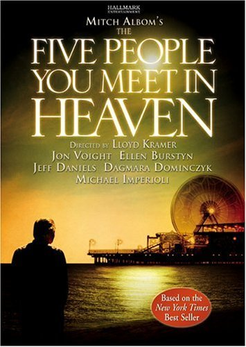 Mine's probably Mitch Albom oh and his best book is The Five People anda Meet In Heaven (the pic is actually from the DVD cover for the movie version)