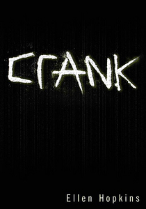 Ellen Hopkins. I've only read her first book, CRANK, but I am in cinta with her structure of writing.<3