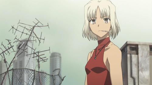 1.Hirasawa Yui (K-ON!) 2.Canaan (CANAAN) 3.Saber (Fate/stay Night) 4.Nagakawa Kanon (Kami Nomi zo Shiru Sekai) 5.Ryougi Shiki (Kara no Kyokai) i think.... Canaan is the best