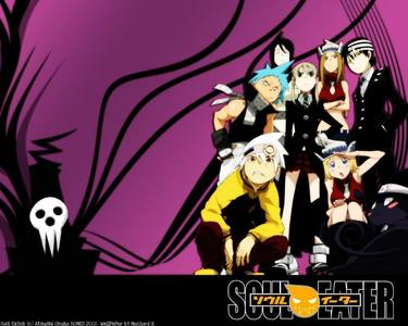 Soul Eater <3 Clannad is a very close second. :3