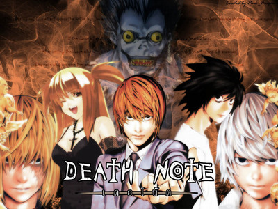 wewe already know! ;) It's Death Note! <3 If something better comes along then I'll change it...I doubt anything will be better though xD