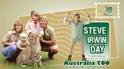 Steve, Terri, and Bindi Irwin! i've always wanted to go to Australia! that happens when the guy that you've looked up to since you were little. being that, i've always wanted to go to the Australian Zoo. that kinda has 2 come along wit the package... i've always looked up 2 Steve Irwin, can u tell? oddly, Steve Irwin araw is the same araw as my mom's birthday! XD November 15, right?