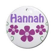 my name is hannah and it means its origin his hebrew it means he(god)has fovoured me/favours me. atau something like that