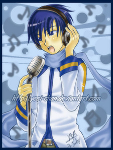 i acutally look like kaito but without the blue hair
