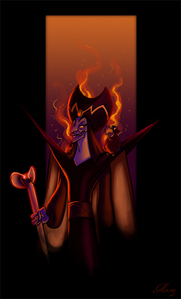 Jafar. He was my first animated crush.