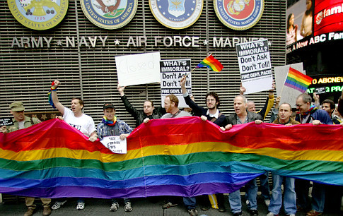 DADT was repealed. :)