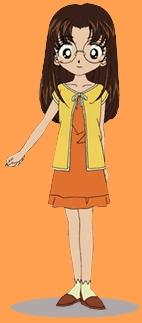 i say kana  brown long hair like me glasses like me she kinda like me XD