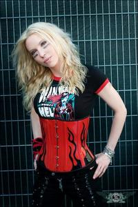 Right now is Angela Gossow