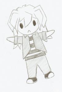 a bakura doll :(
