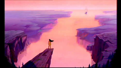 Pocahontas. The ending of Pocahontas made me cry.