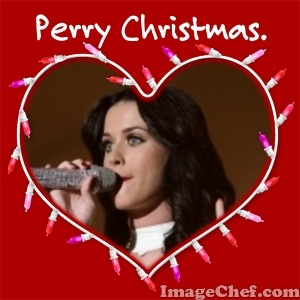 Katy Perry! Oh and Perry क्रिस्मस everybody! :D