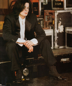 I wish he did. If anyone deserved the 爱情 of a good woman, it was Michael.