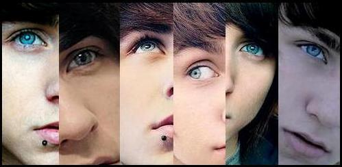 Alex Evans. I don't like him, but he has gorgeous eyes. :O